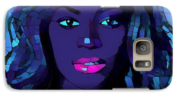 Beyonce Graphic Abstract Galaxy S7 Case by Dan Sproul