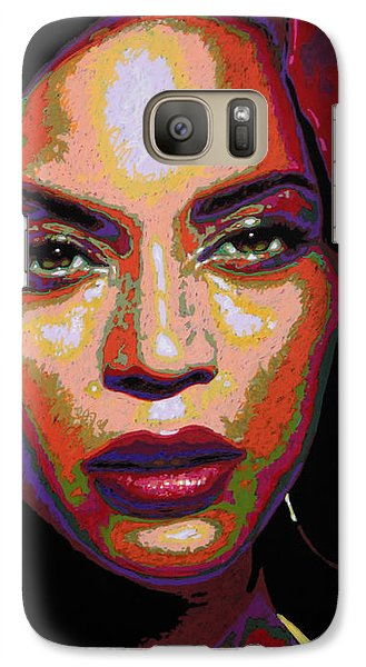 Beyonce Galaxy S7 Case by Maria Arango