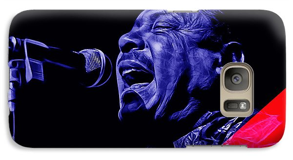 Big Joe Turner Collection Galaxy Case by Marvin Blaine