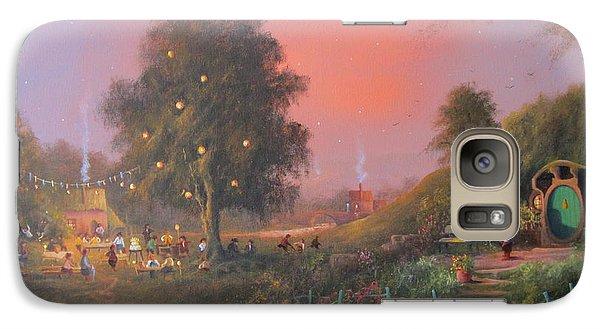 Bilbo's Eleventy-first Birthday Party Galaxy Case by Joe  Gilronan