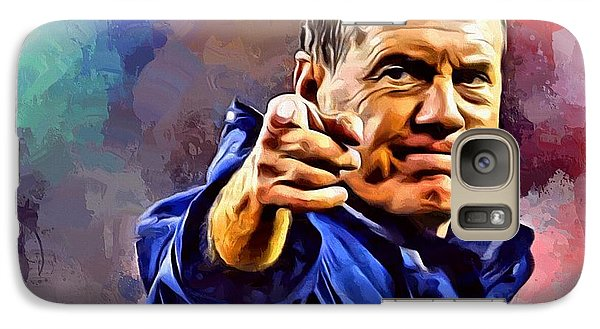 Bill Belichick Galaxy S7 Case by Scott Wallace