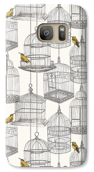 Birdcages Galaxy S7 Case by Stephanie Davies