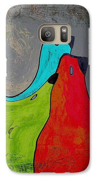 Birdies - V110b Galaxy S7 Case by Variance Collections