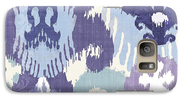 Blue Curry I Galaxy Case by Mindy Sommers