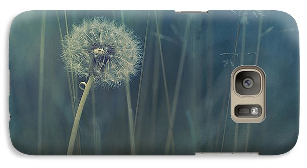 Blue Tinted Galaxy S7 Case by Priska Wettstein