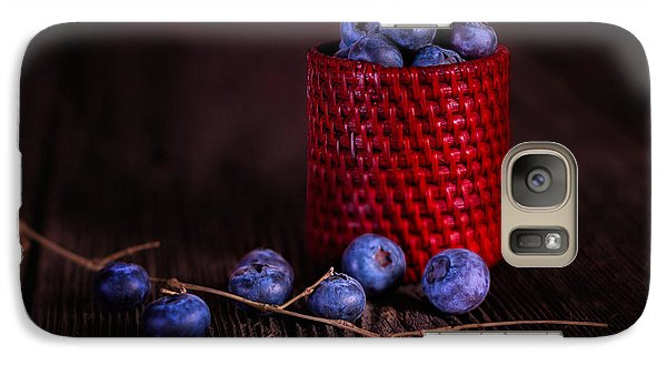 Blueberry Delight Galaxy Case by Tom Mc Nemar
