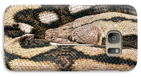 Boa Constrictor Galaxy Case by Tom Mc Nemar