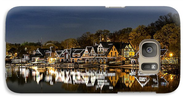 Boathouse Row Galaxy Case by John Greim