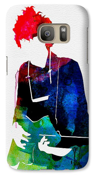 Bob Watercolor Galaxy S7 Case by Naxart Studio