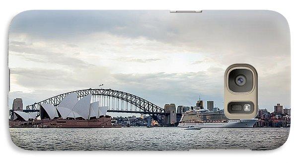 Bon Voyage Galaxy S7 Case by Az Jackson