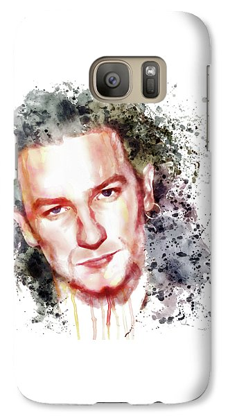 Bono Vox Galaxy S7 Case by Marian Voicu