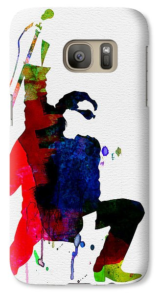 Bono Watercolor Galaxy S7 Case by Naxart Studio