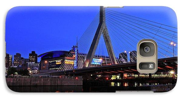 Boston Garden And Zakim Bridge Galaxy S7 Case by Rick Berk