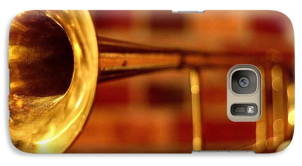 Brass Trombone Galaxy S7 Case by David  Hubbs