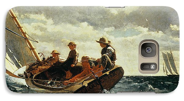 Breezing Up Galaxy S7 Case by Winslow Homer