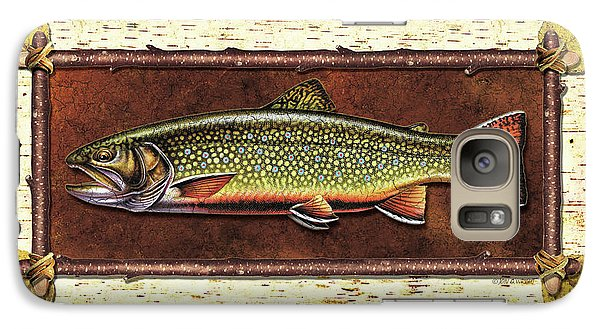 Brook Trout Lodge Galaxy S7 Case by JQ Licensing