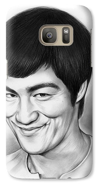 Bruce Lee Galaxy Case by Greg Joens