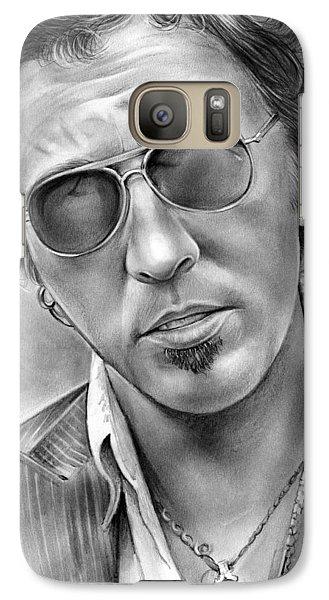 Bruce Springsteen Galaxy S7 Case by Greg Joens