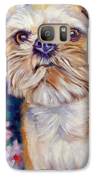 Brussels Griffon Galaxy S7 Case by Lyn Cook