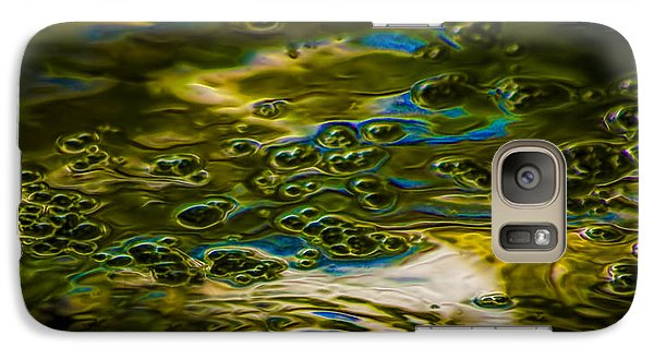 Bubbles And Reflections Galaxy Case by Marvin Spates