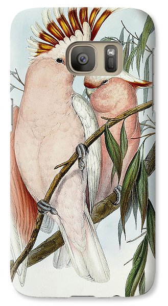 Cacatua Leadbeateri Galaxy Case by John Gould