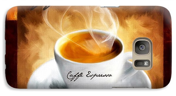 Caffe Espresso Galaxy Case by Lourry Legarde