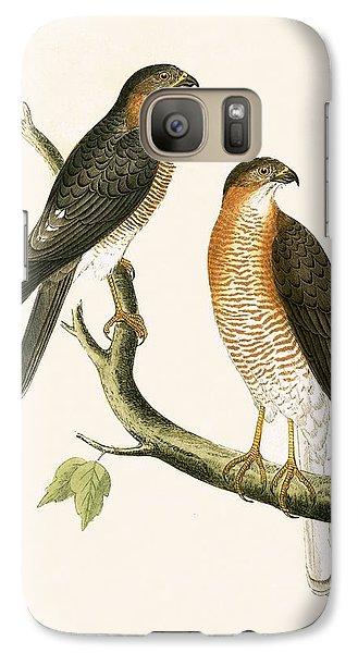 Calcutta Sparrow Hawk Galaxy S7 Case by English School