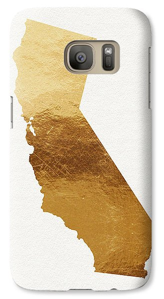 California Gold- Art By Linda Woods Galaxy S7 Case by Linda Woods