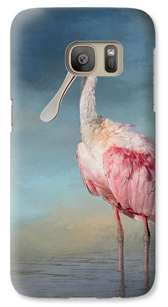 Call Me Rosy Galaxy S7 Case by Kim Hojnacki