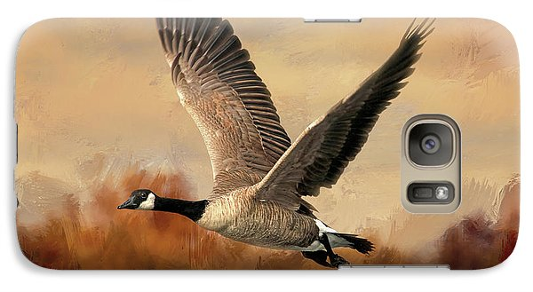 Canadian Air Galaxy S7 Case by Donna Kennedy