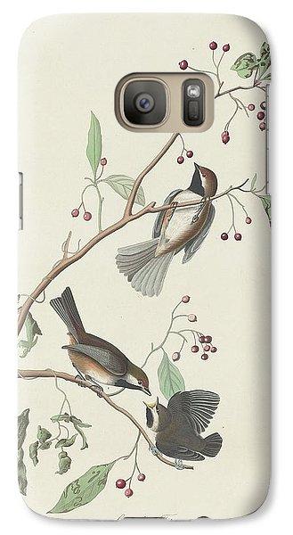 Canadian Titmouse Galaxy S7 Case by John James Audubon