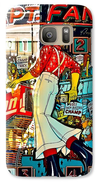 Captain Fantastic - Pinball Galaxy Case by Colleen Kammerer