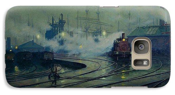 Cardiff Docks Galaxy S7 Case by Lionel Walden