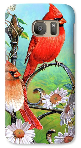 Cardinal Day 3 Galaxy S7 Case by JQ Licensing