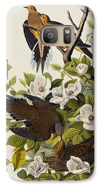 Carolina Turtledove Galaxy S7 Case by John James Audubon
