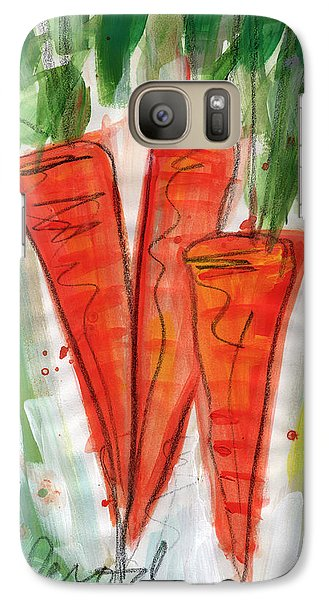 Carrots Galaxy S7 Case by Linda Woods