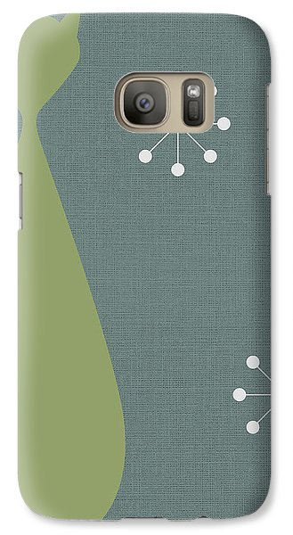 Cat - 1 Galaxy Case by Finlay McNevin
