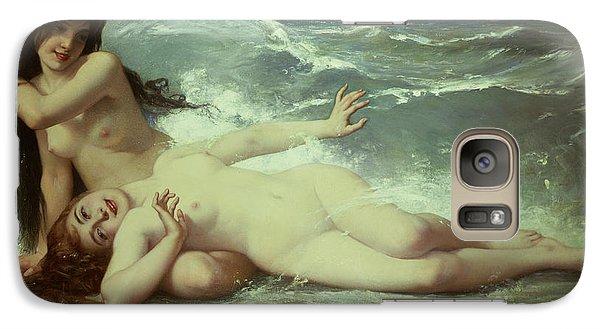 Catching Waves  Galaxy Case by Paul Albert Laurens