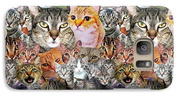 Cats Galaxy Case by Gloria Sanchez