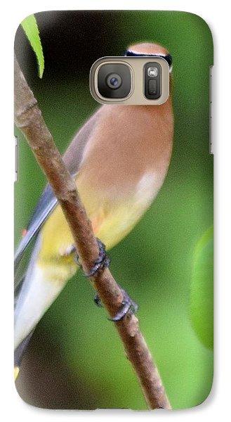 Cedar Wax Wing 2 Galaxy S7 Case by Sheri McLeroy