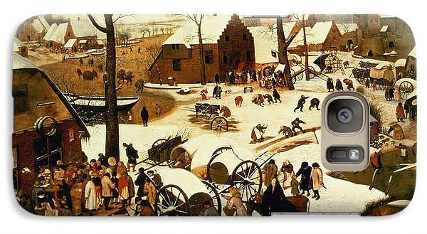 Census At Bethlehem Galaxy S7 Case by Pieter the Elder Bruegel