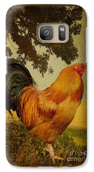 Chanticleer Galaxy Case by Lois Bryan