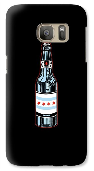 Chicago Beer Galaxy S7 Case by Mike Lopez