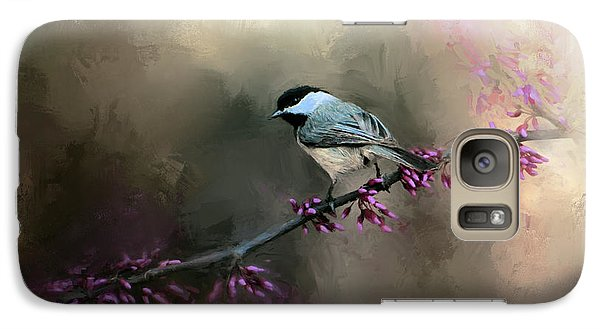 Chickadee In The Light Galaxy Case by Jai Johnson