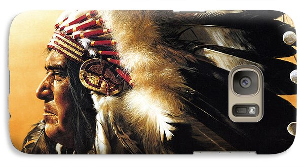 Chief Galaxy S7 Case by Greg Olsen