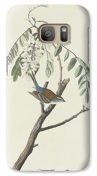 Chipping Sparrow Galaxy S7 Case by John James Audubon