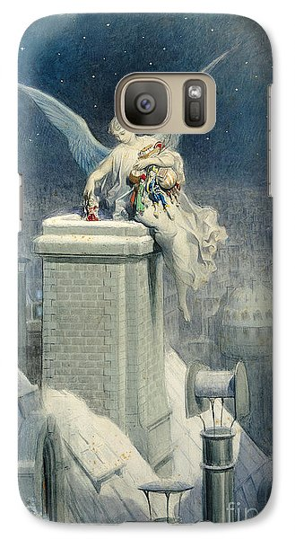Christmas Eve Galaxy Case by Gustave Dore