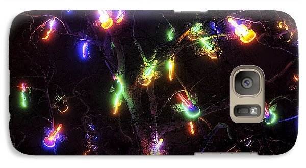 Christmas Violins Galaxy Case by John Rizzuto