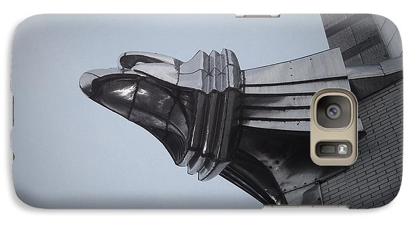 Chrysler Building Detail Galaxy Case by Naxart Studio