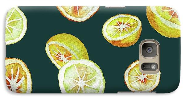 Citrus Galaxy Case by Varpu Kronholm